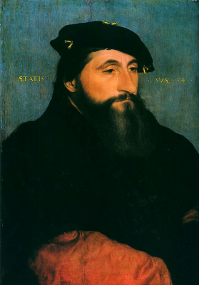 Hans Holbein The Younger. Portrait of Antoine II the Good, Duke of Lorraine