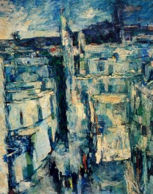 Mordechai Ardon. The city