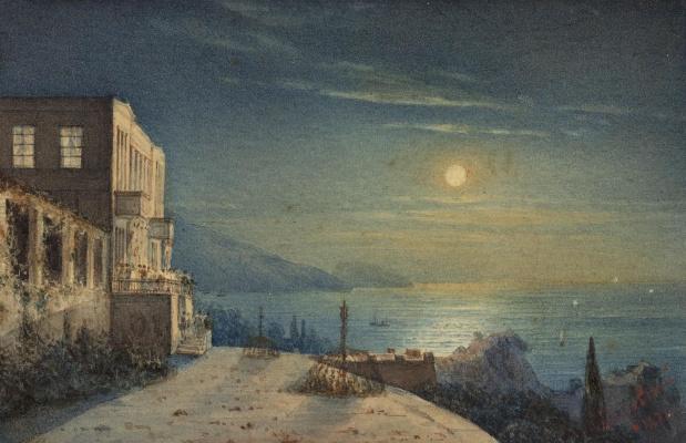 Ivan Constantinovich Aivazovski. View Of The Crimea