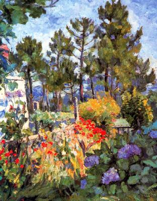 Хуан Луис Лопес Гарсиа. Цветущий сад