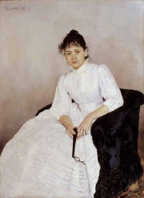 Portrait Of Maria Feodorovna Yakunchikovoy
