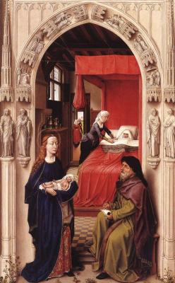 Рогир ван дер Вейден. Наречение Иоанна Крестителя