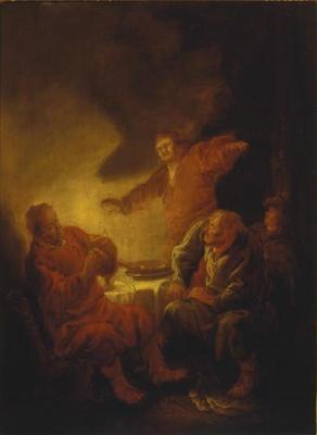 Беньямин Герритс Кейп. Христос в Эммаусе