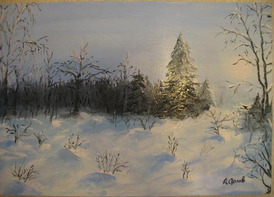 Alexander Valerievich Orlov. Winter forest