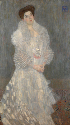 Gustav Klimt. Portrait Of Hermine Gallia
