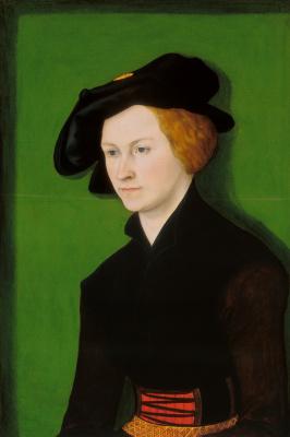 Lucas Cranes the Elder. Portrait of a woman
