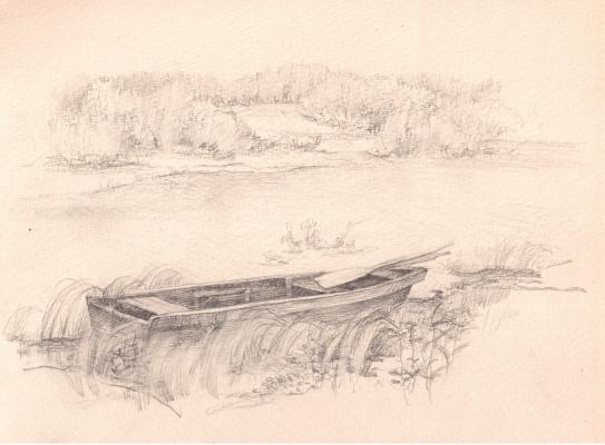 Arkady Pavlovich Laptev. The boat to the shore