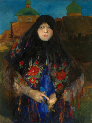 Philip Andreevich Malyavin. Prosperous Peasant Woman