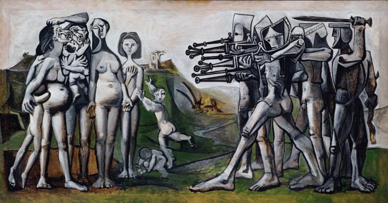 Pablo Picasso. Massacre in Korea