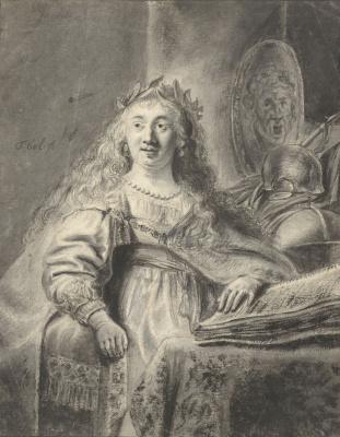 Ferdinand Baltasars Pain. Minerva (Rembrandt van Rhine)