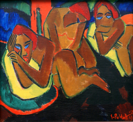 Max Pehshtein. Women in the tent