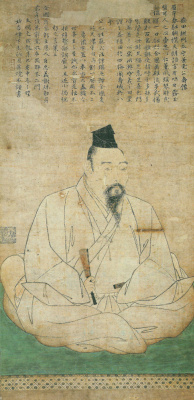 Sesshu ни один Тойо. Портрет Масуда Kanetaka