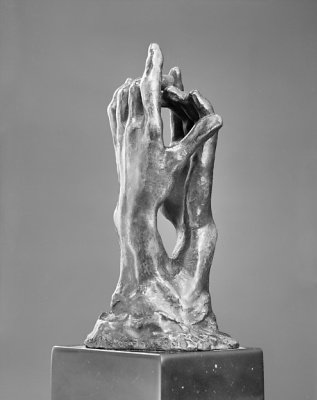 "Auguste Rodin. Sketch for ""the Secret"""
