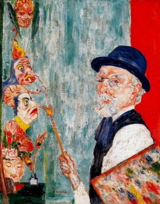 James Ensor. Mask
