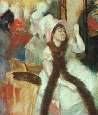 Эдгар Дега. После маскарада (Портрет мадам Бал-Дитц Моннин)