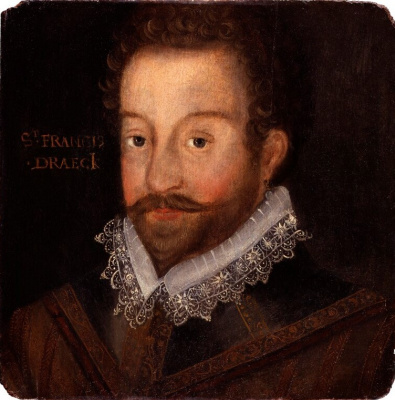Masterpieces of unknown artists. Sir Francis Drake