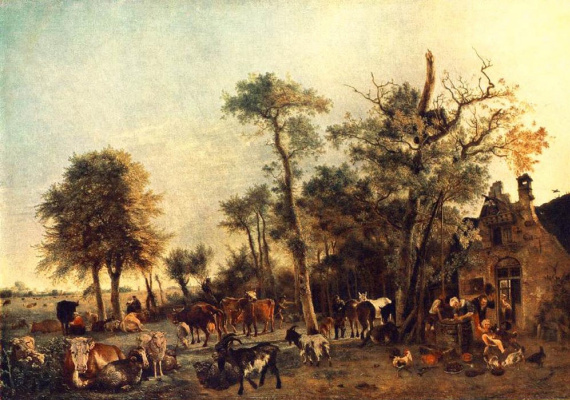 Paulus Potter. Cattle