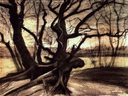 Винсент Ван Гог. Этюд с деревом