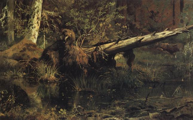 Ivan Ivanovich Shishkin. Forest (Shmetsk near Narva)
