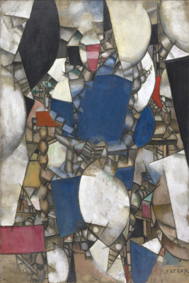 Fernand Leger. Woman in blue