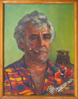 Евгений Геннадиевич Лактионов. Portrait of the miner Svinarenko N.I.