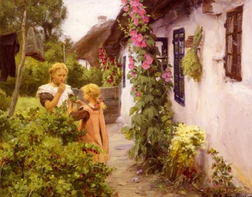 Ганс Андерсон Брендекилд. Коттедж в саду