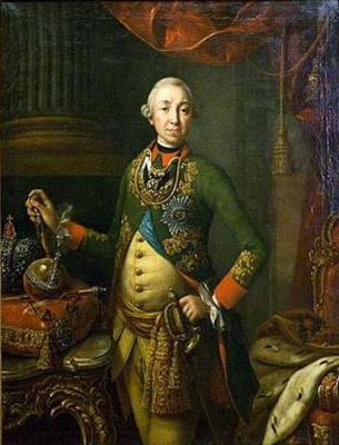 Алексей Петрович Антропов. Петр III