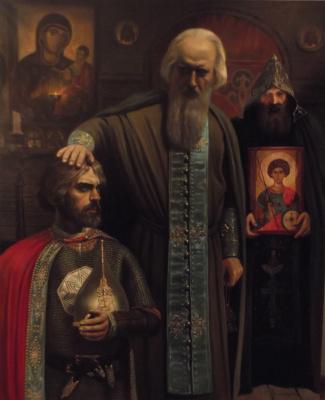 Игорь Токарев. Благословение Сергием Радонежским Дмитрия Донского