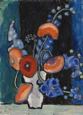 Gabriele Münter. Flowers in a vase