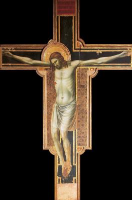 Giotto di Bondone. Crucifix in Rimini