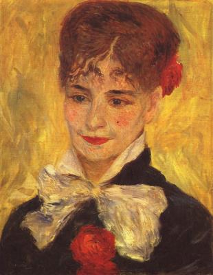 Pierre-Auguste Renoir. Portrait of Madame Iscovescu
