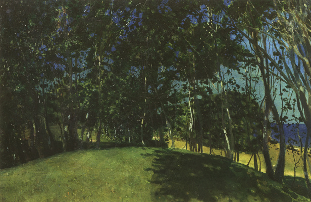 Constantin Somov. Grove by the sea. Sillamae