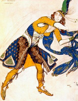 Lev Samoilovich Bakst (Leon Bakst). Indo-Persian dance