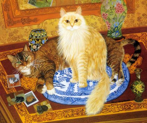 Мими Ванг Олсен. Пушистый кот
