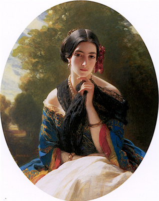 Franz Xaver Winterhalter. Leonilla Princess Of Seyn-Wittgenstein