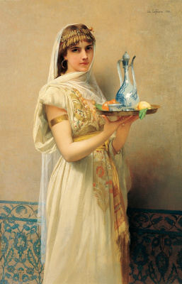 The maid. 1880