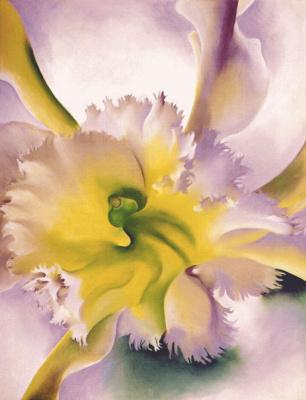 Джорджия О'Киф. Орхидеи