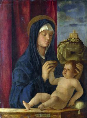 Джованни Беллини. Мадонна с младенцем