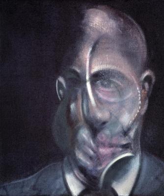 Francis Bacon. Portrait Of Michel Leiris