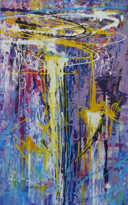 "Tanya Vasilenko. ""Emotions"" acrylic on canvas. Emotions. Acrylic on canvas."