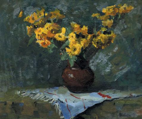 Андрей Шевчук. Желтые цветочки.