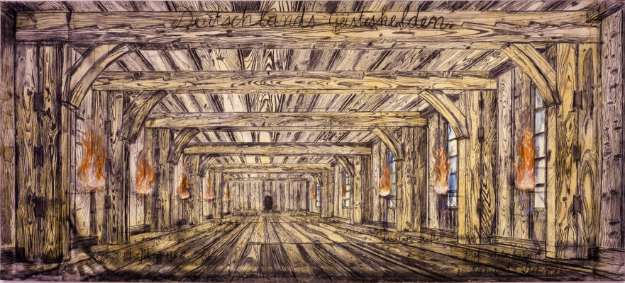 Anselm Kiefer. The heroes of the German spirit