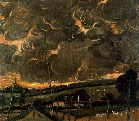 Andre Derain. The Saddest Landscape