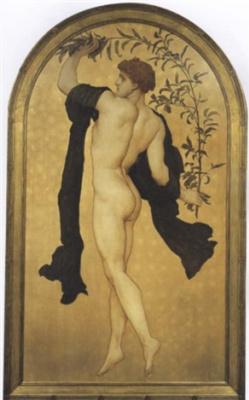 Сэр Фредерик Лейтон. Танец с оливковой ветвью