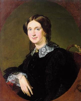 Vasily Andreevich Tropinin. Portrait Of Natalia Pavlovna Panina