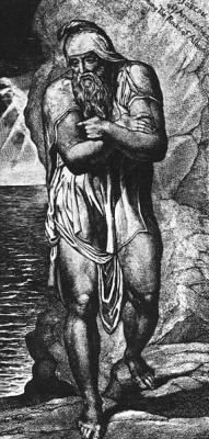 William Blake. Joseph of Arimathea among the rocks of Albion