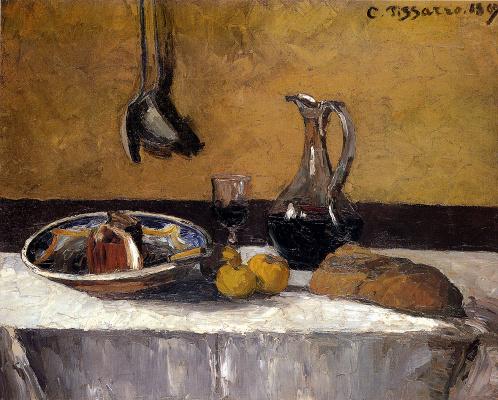 Camille Pissarro. Still life