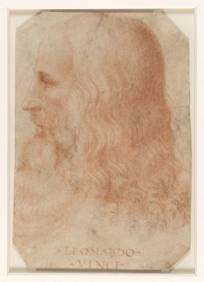 Francesco Meltsi. A portrait of Leonardo