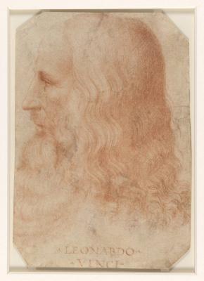 Francesco Meltsi. 莱昂纳多达芬奇的肖像