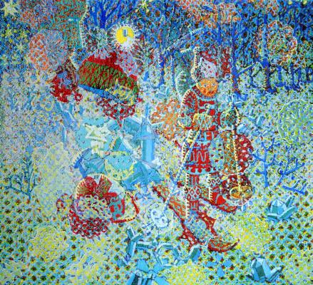 Алексей Петрович Акиндинов. Boy and crystal